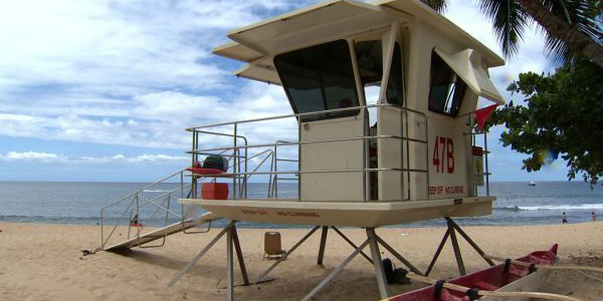 Man rescued from high surf at Sunset Beach