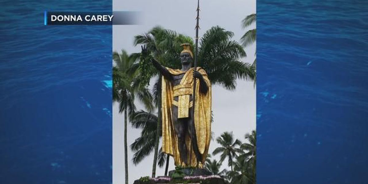 Man convicted in King Kamehameha statue spear tip theft
