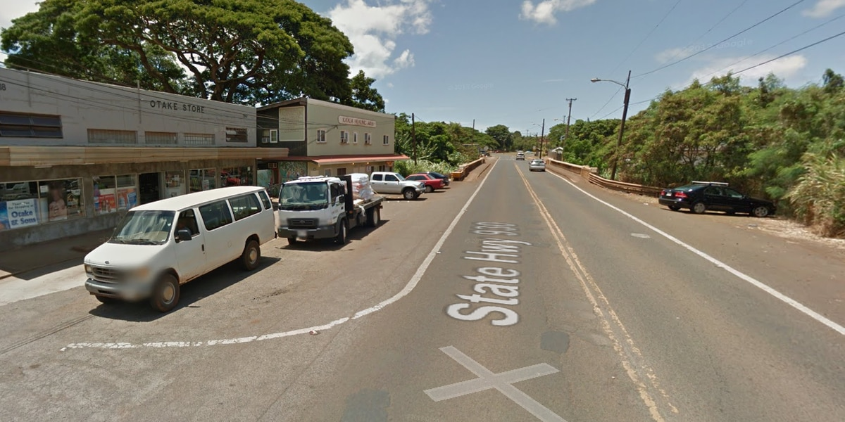 Water main break disrupting morning traffic in Waialua