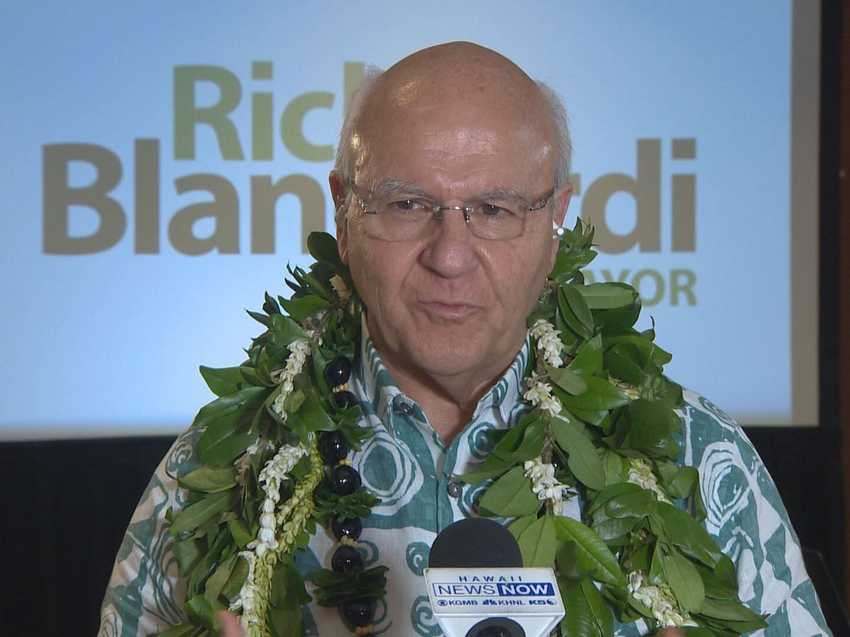 After decisive win in race for Honolulu mayor, Blangiardi pledges to hit the ground running