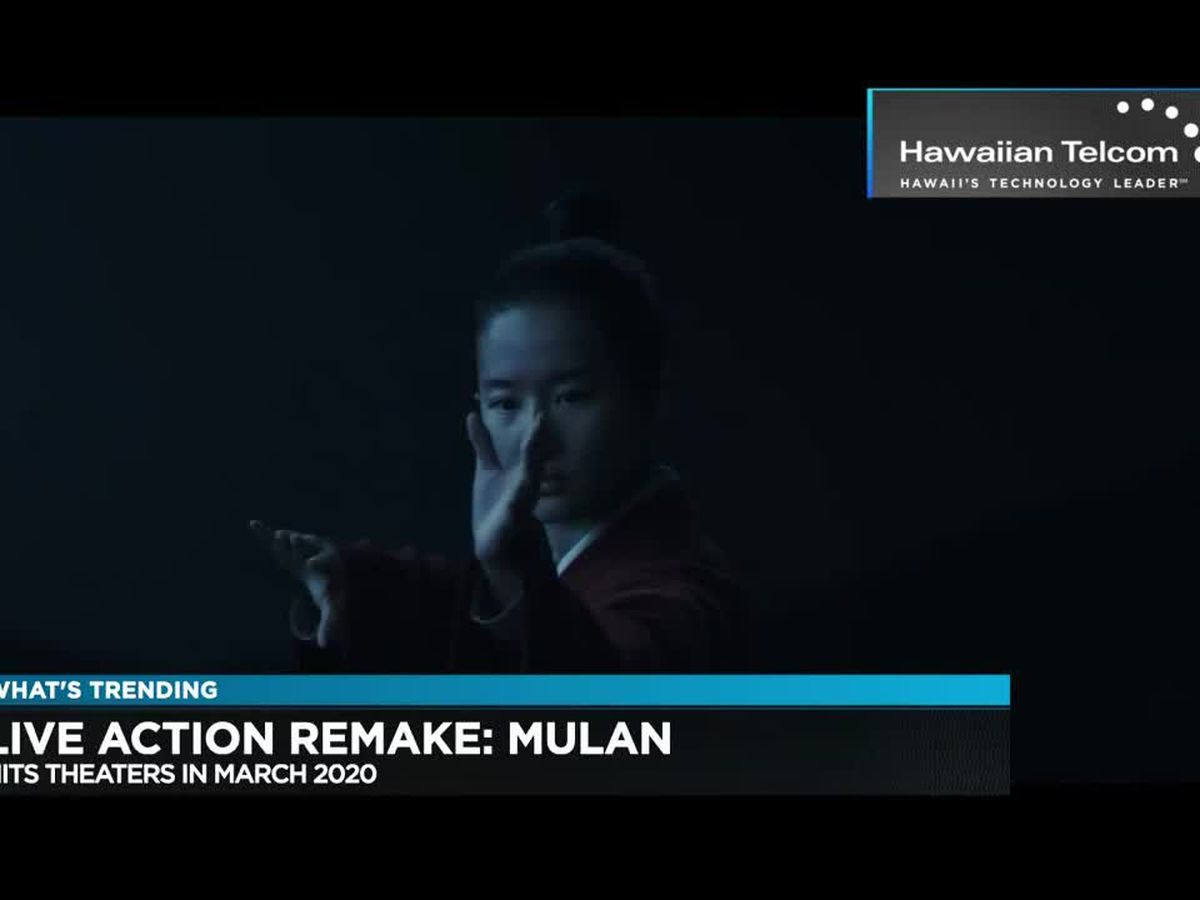 What's Trending: Disney releases first trailer for upcoming live-action film 'Mulan'