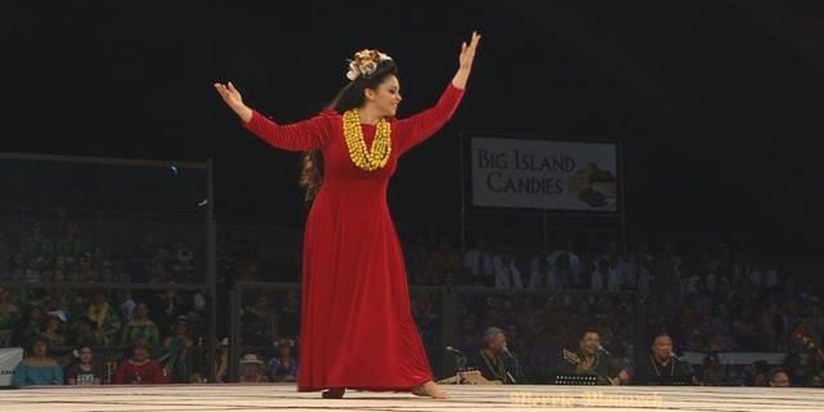 2018 Miss Aloha Hula - 'Auana: Shenaniah Ku'ulei'awapuhimelemelenaanuhea Romias