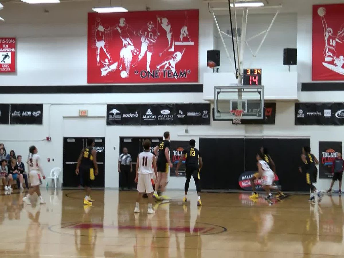 The 'Iolani Prep Classic basketball tournament has been canceled for 2020