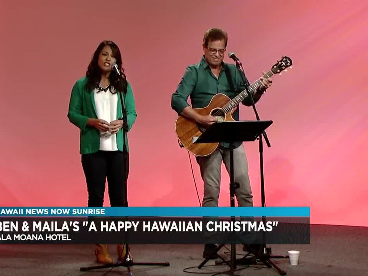 Na Hoku Hanohano award-winners Ben and Maila to perform in holiday concert