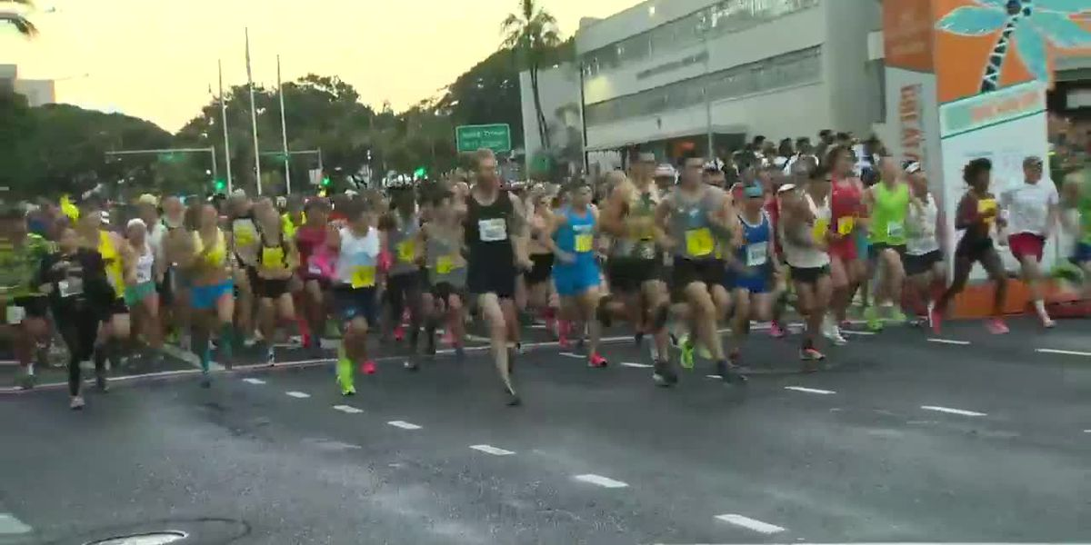 Thousands of runners, walkers lace up for 36th annual Great Aloha Run