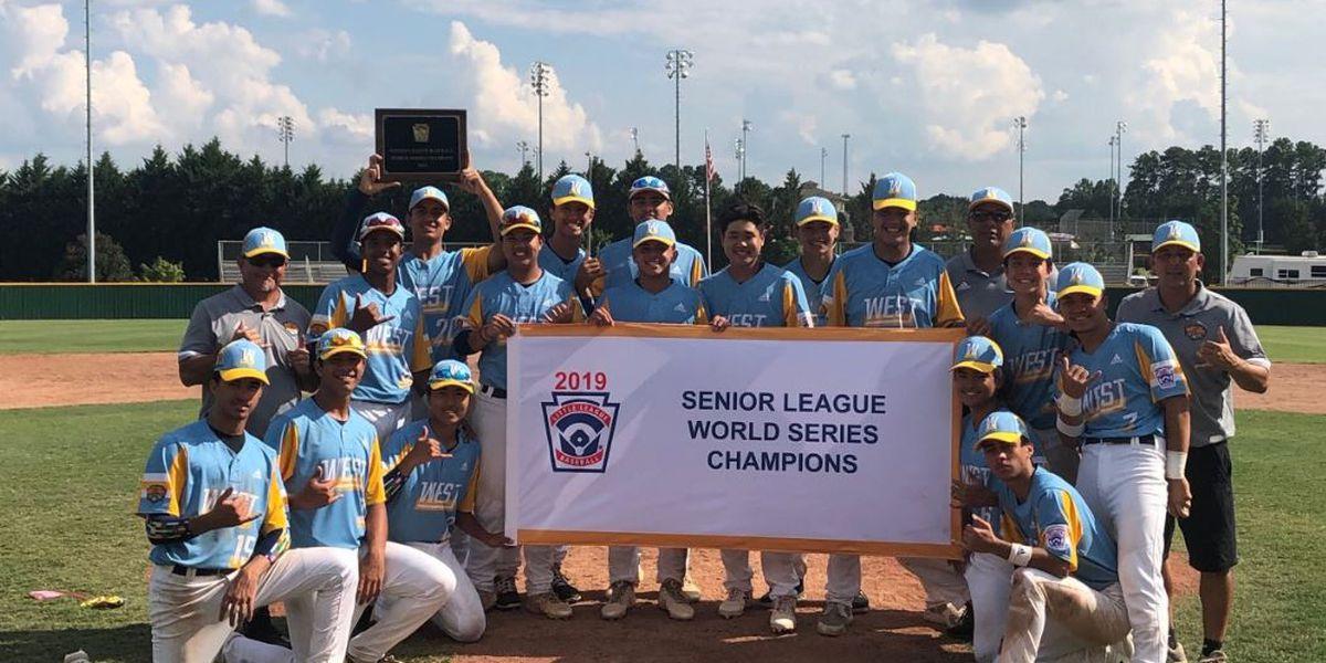 Central East Maui captures Senior League World Series Title