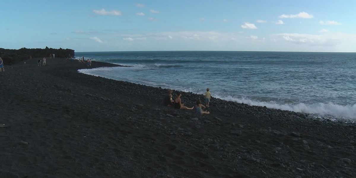 One of Hawaii's newest beaches is already polluted with microplastics
