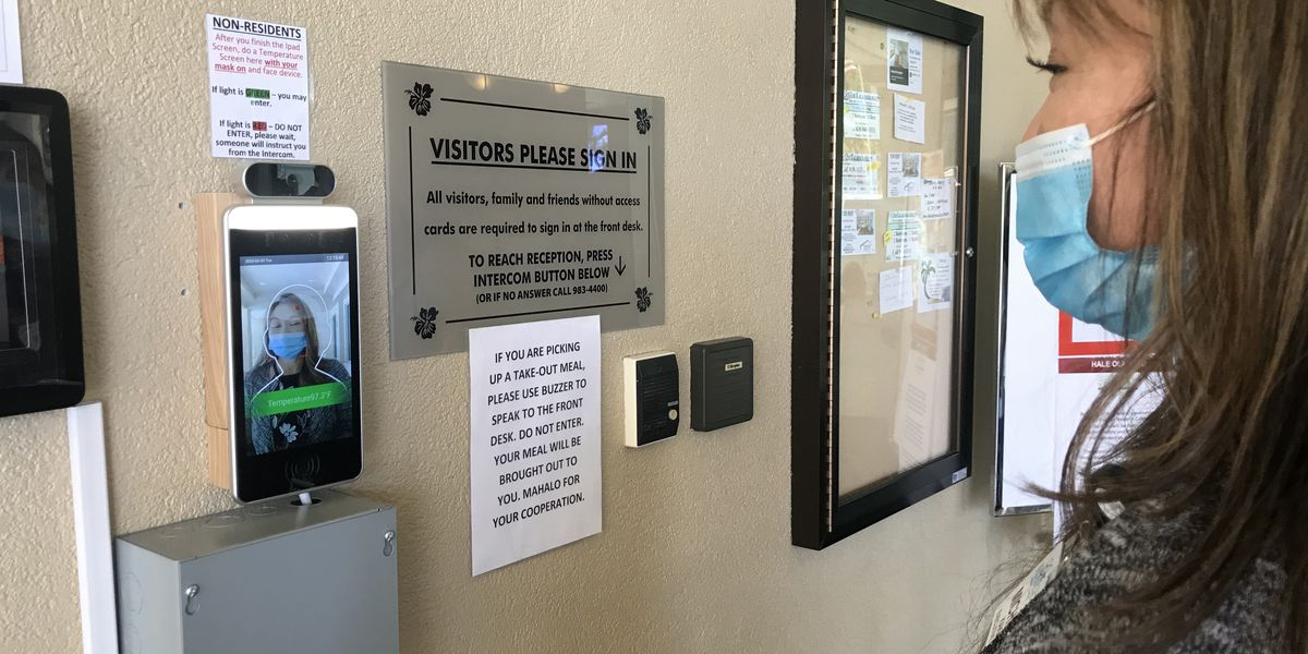 To help keep virus out and residents safe, a senior living facility turns to tech