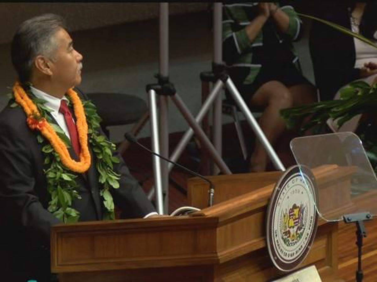 Gov. Ige to deliver State of the State in dramatically different position than in 2018