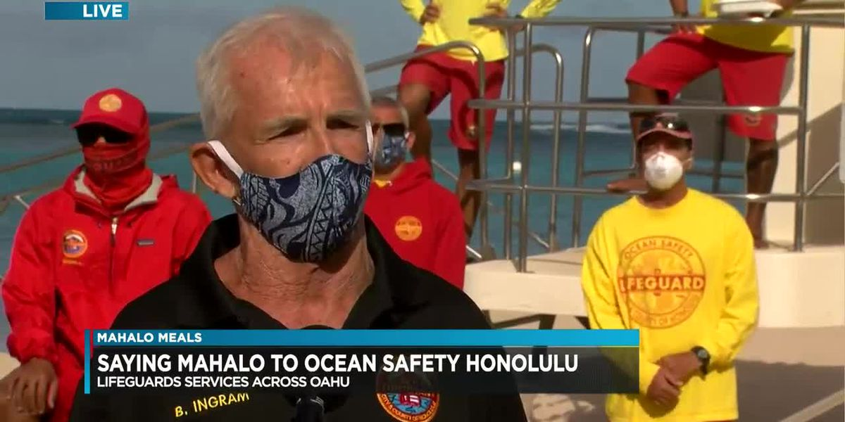 Mahalo Meals: HNN, CPB Foundation thanks city lifeguards for their work on the frontlines (Part 2)