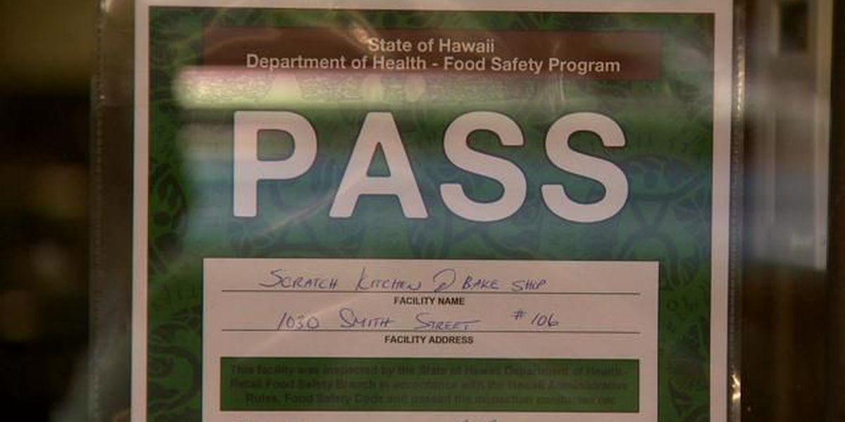 Most Hawaii restaurants earn 'pass' placard