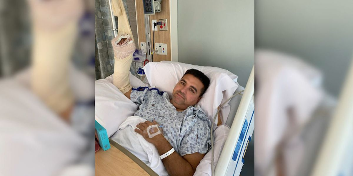 'Cake Boss' star injured at home in 'terrible' accident