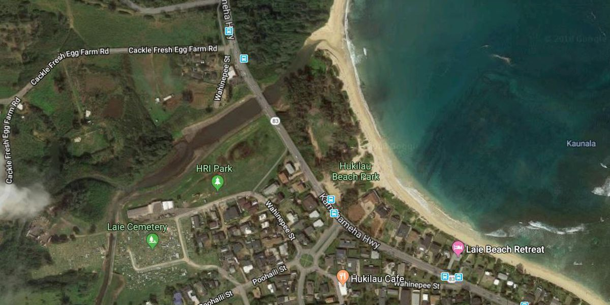 Body of a man in his 20s found on a Laie beach; HPD investigating