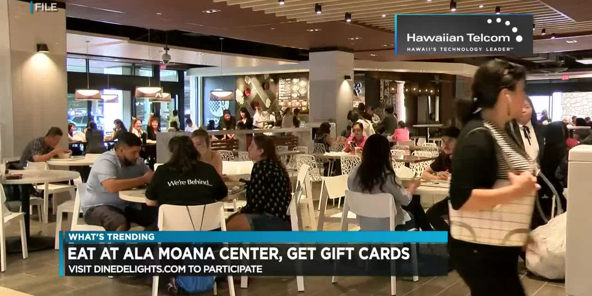 What's Trending: Dozens of Ala Moana restaurants participate in promo