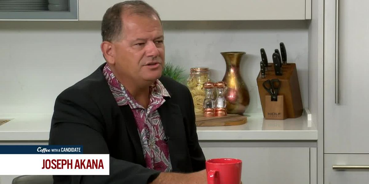 Coffee with a Candidate: Joe Akana, Republican Candidate for Congress