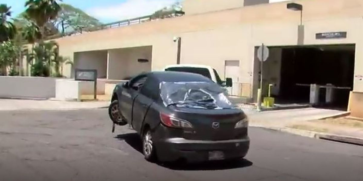 More questions than answers left after a decomposing body is found in a stolen car