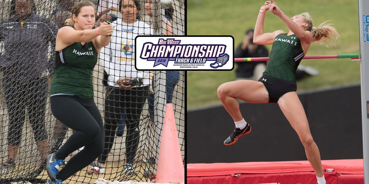 Sudbeck and Lowe win at Big West Championships