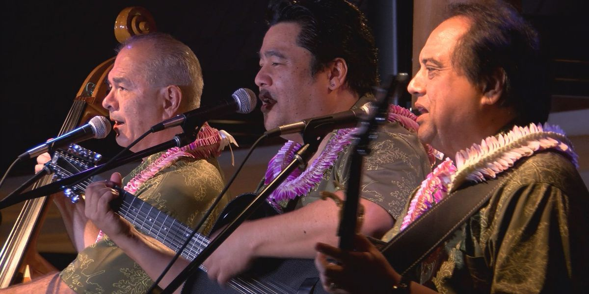 Ho'okena continues to share their love of Hawaiian music with thousands