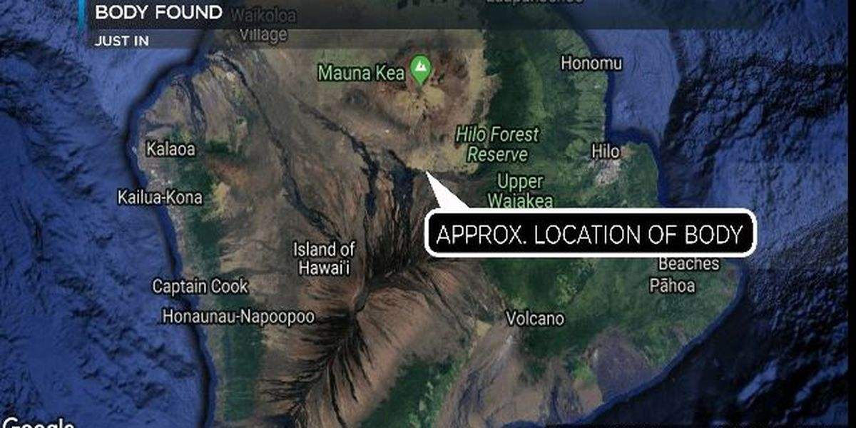Body found near Daniel K. Inouye Highway on Big Island