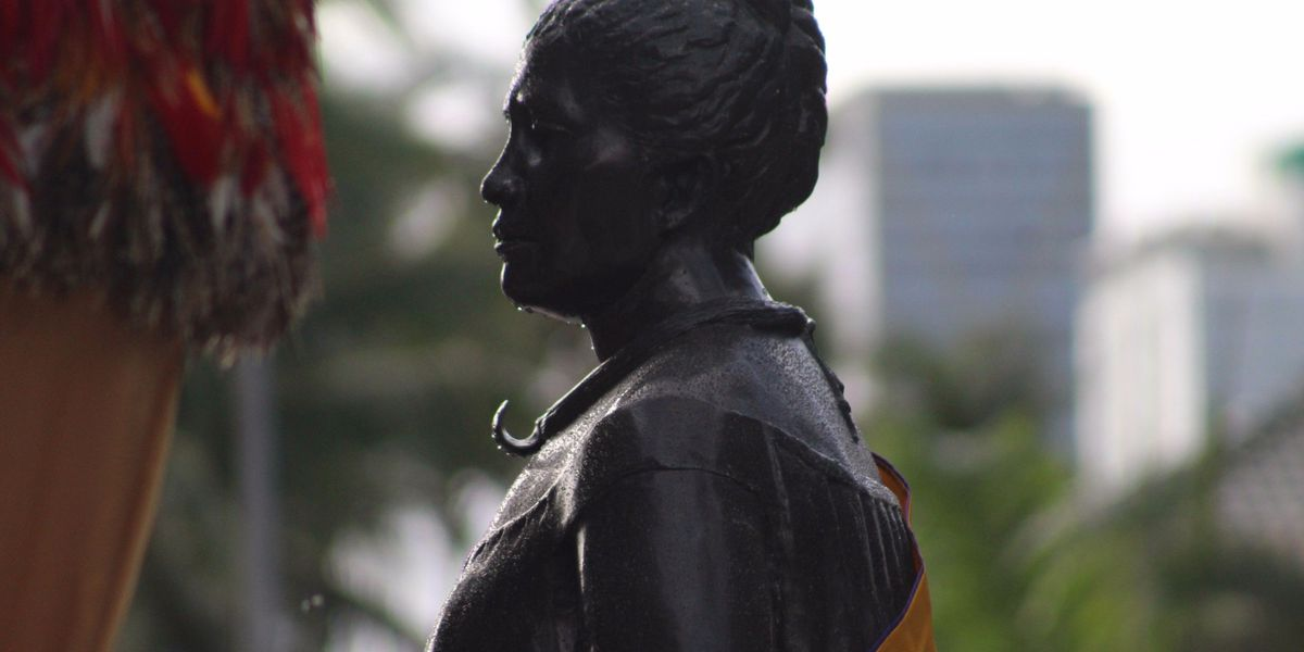 PHOTOS: Queen Liliuokalani honored on 100th anniversary of her death