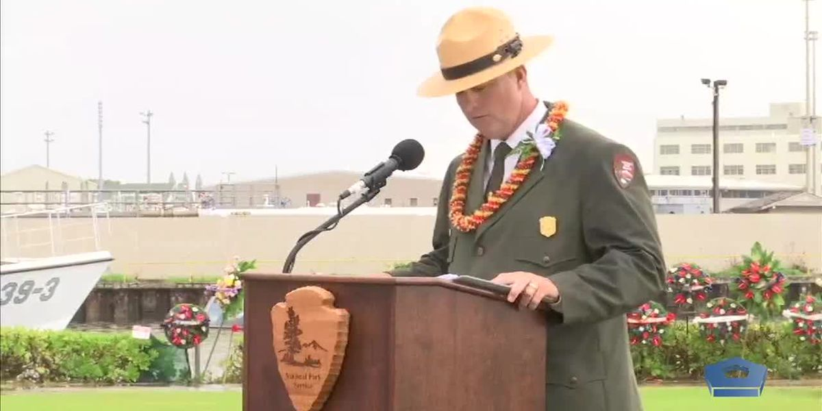 WATCH: Full ceremony marking the 77th anniversary of the attack on Pearl Harbor