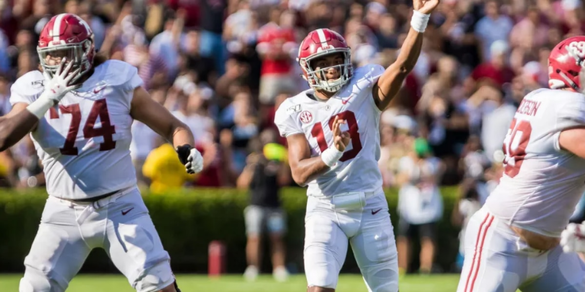 Tagovailoa named Davey O'Brien National Quarterback of The Week