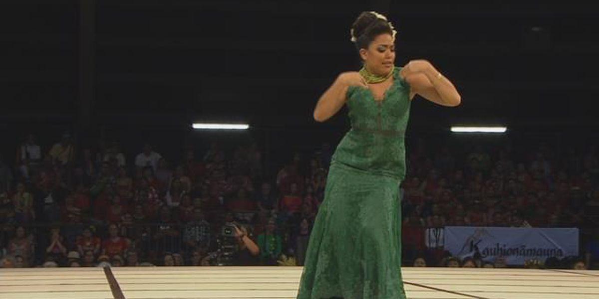2018 Miss Aloha Hula - Aloha 'Oe: Kelina Kiyoko Keʻanoʻilehua Tiffany Eldredge