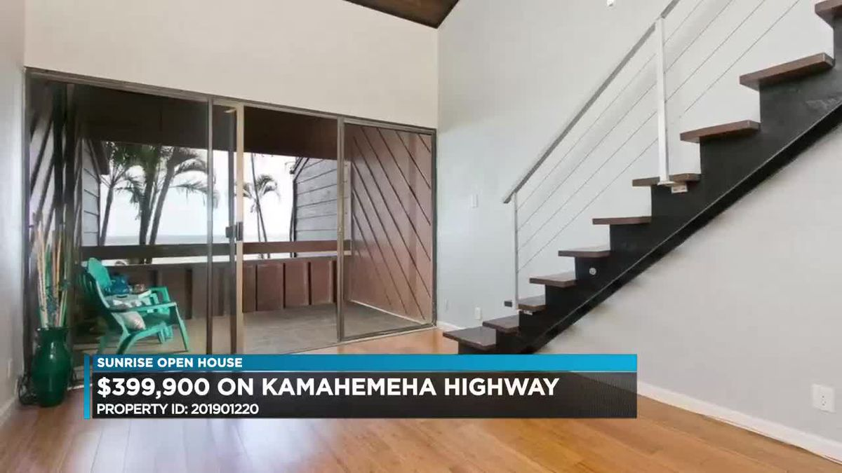 Sunrise Open House: Windward side of Oahu