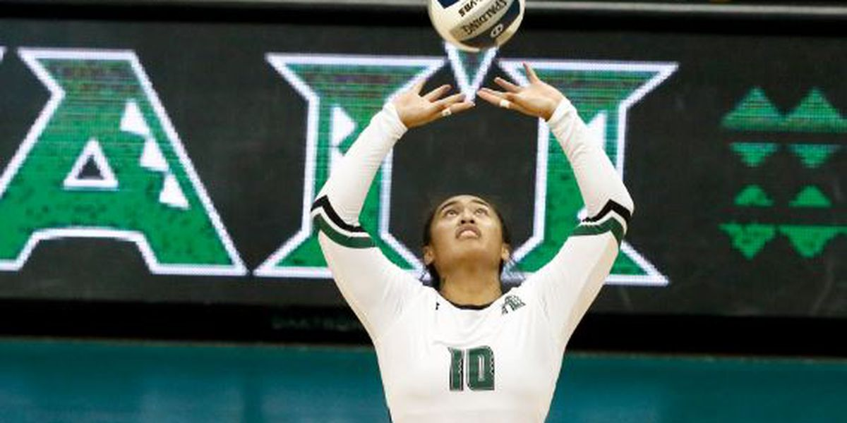 Rainbow Wahine win on senior night against UC Davis, 3-1