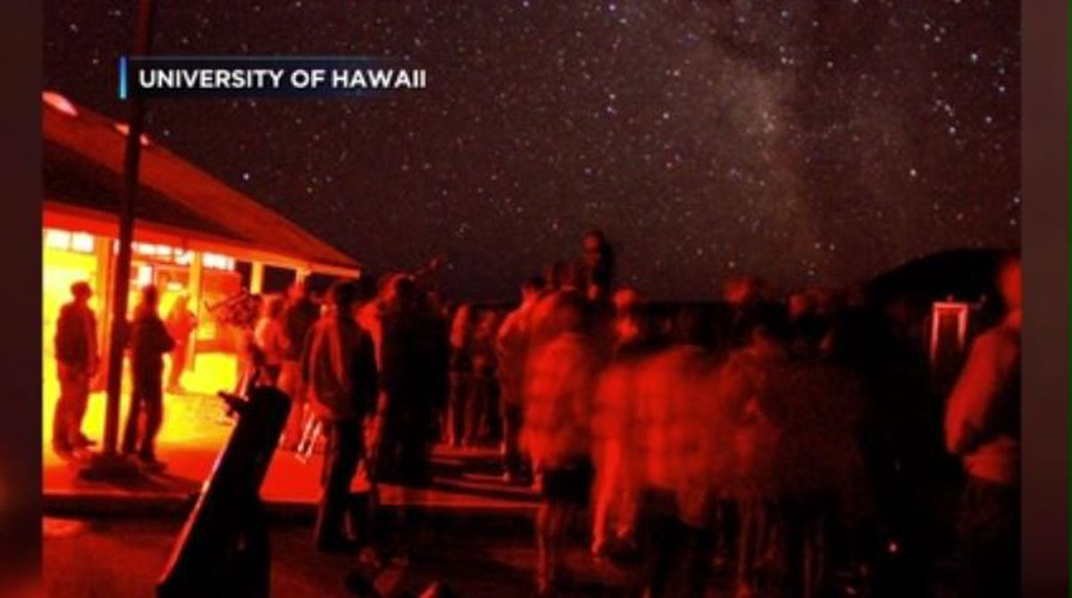 Renovations to the Mauna Kea Visitor Station leads to brief end to nighttime stargazing