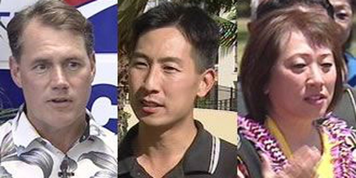 Case, Djou and Hanabusa already poised to run for Abercrombie's seat