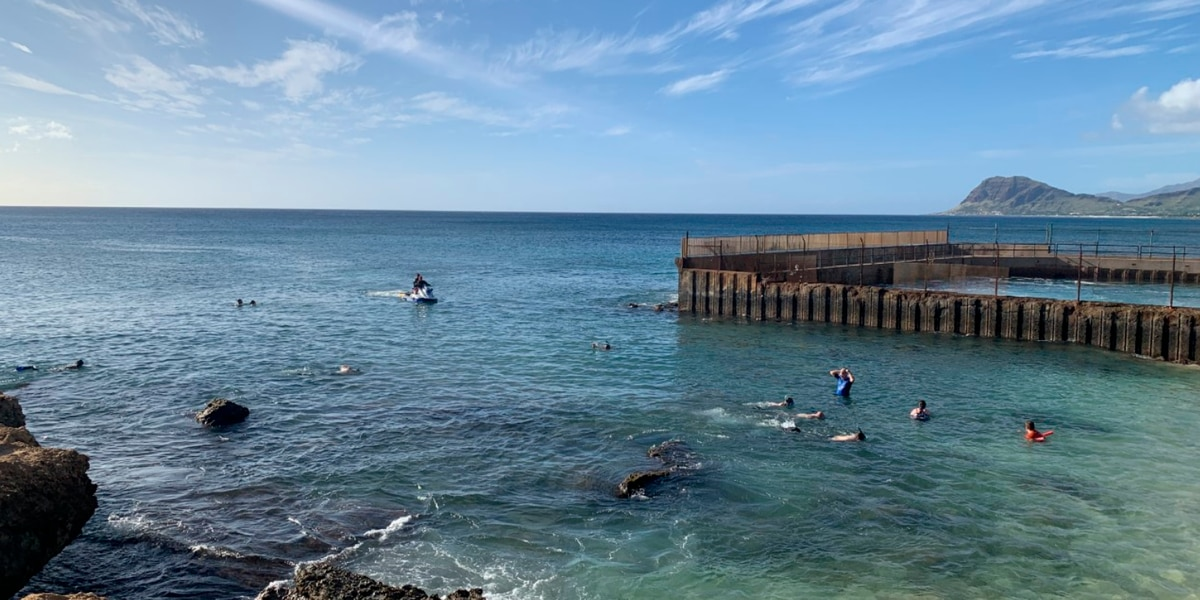 Ocean Safety urges caution after water rescues at a popular West Oahu beach