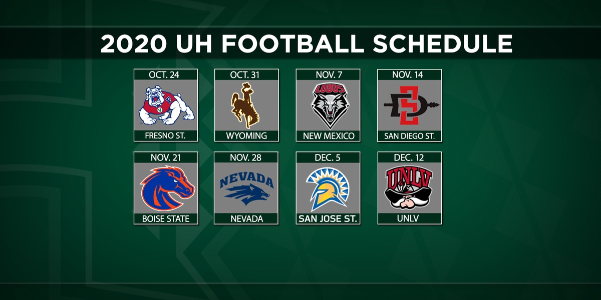 Mountain West schedule has UH opening season with 2 road games