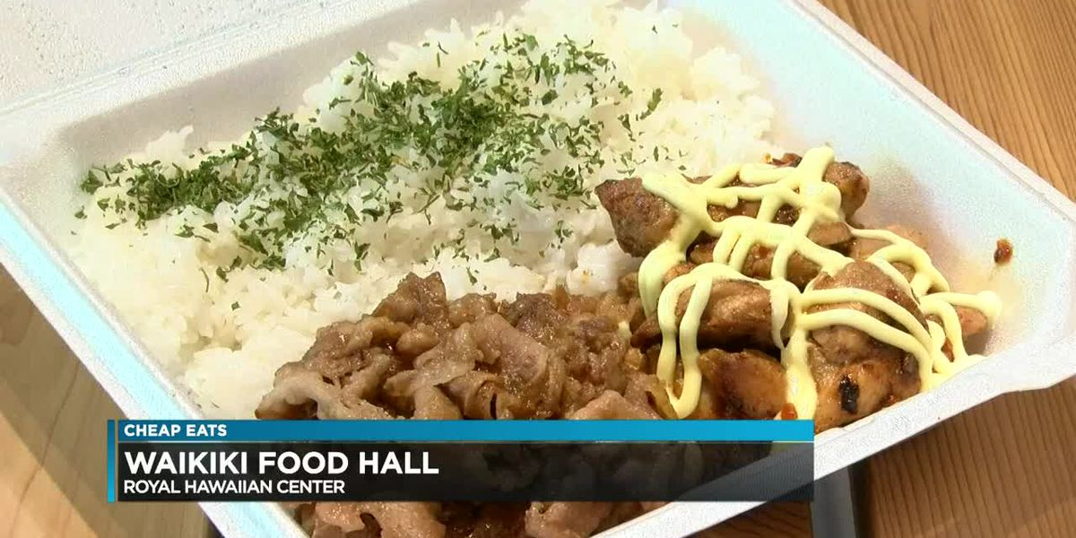 Cheap Eats: Waikiki Food Hall
