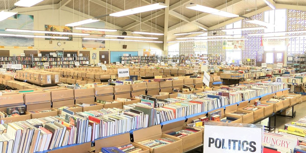 Get lost in a good book (or 2 or 3) at annual Friends of the Library sale