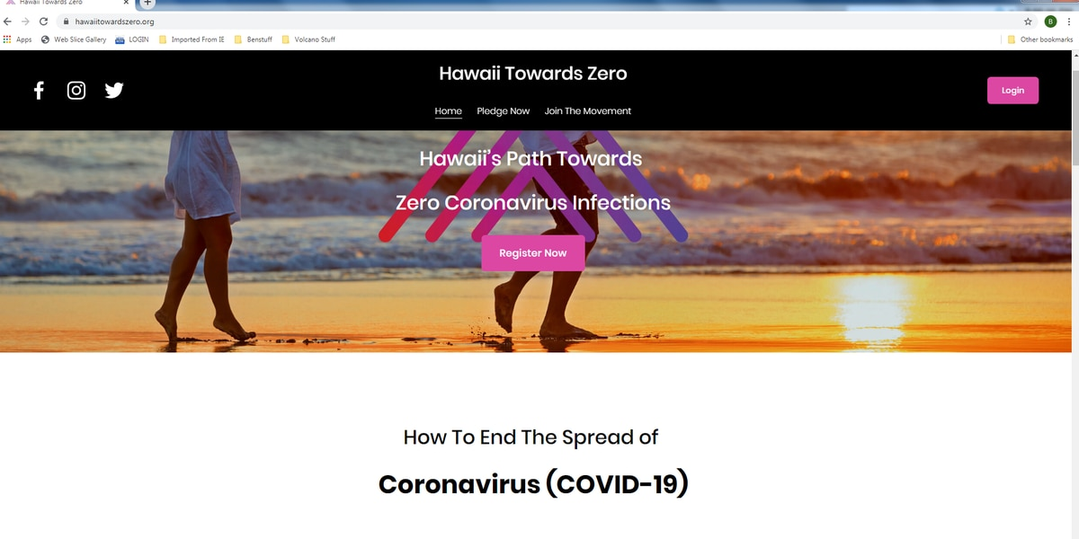 Entrepreneurs launch website to collect data, provide info on coronvirus in Hawaii