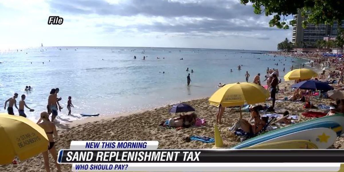 Honolulu City Council approves Waikiki erosion tax plan