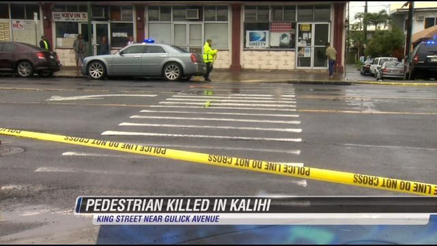 Woman dies after being hit by pickup truck in Kalihi