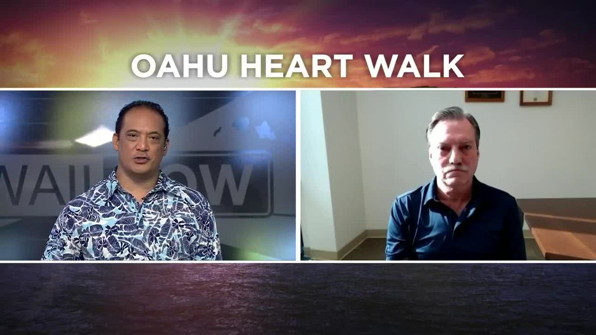 Oahu Heart Walk goes virtual this year