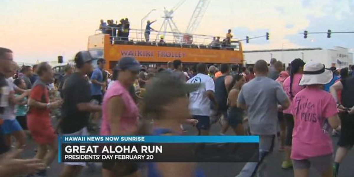 Start your preparations for The 2017 Kaiser Permanente Great Aloha Run