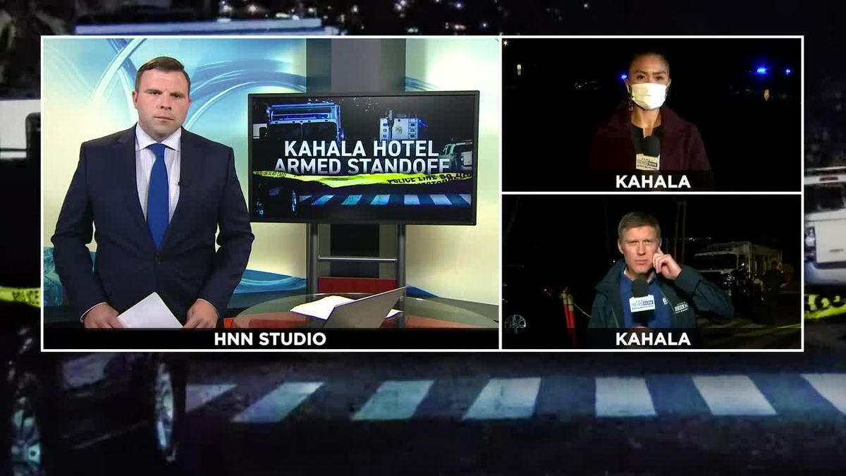 As armed barricade situation at Kahala hotel continues, hundreds remain in lockdown