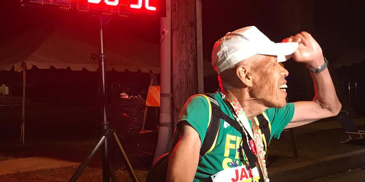 After nearly 18 hours, 88-year-old man finishes Honolulu Marathon