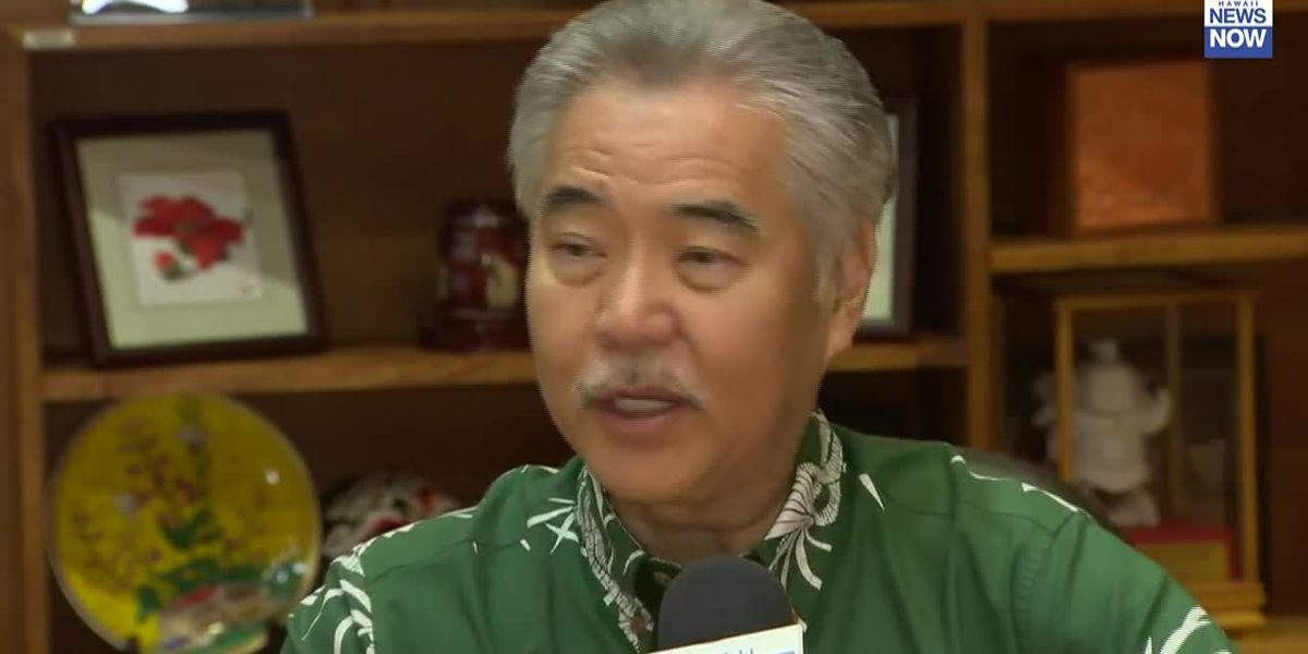 "Governor Ige talks about his ""big picture"" for Hawaii"