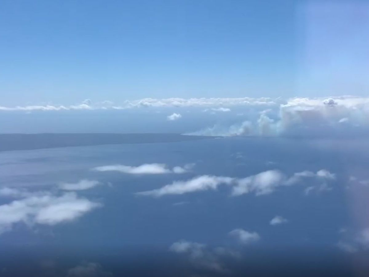Unexploded ordinance concerns stop firefighters from battling Kahoolawe brush fire