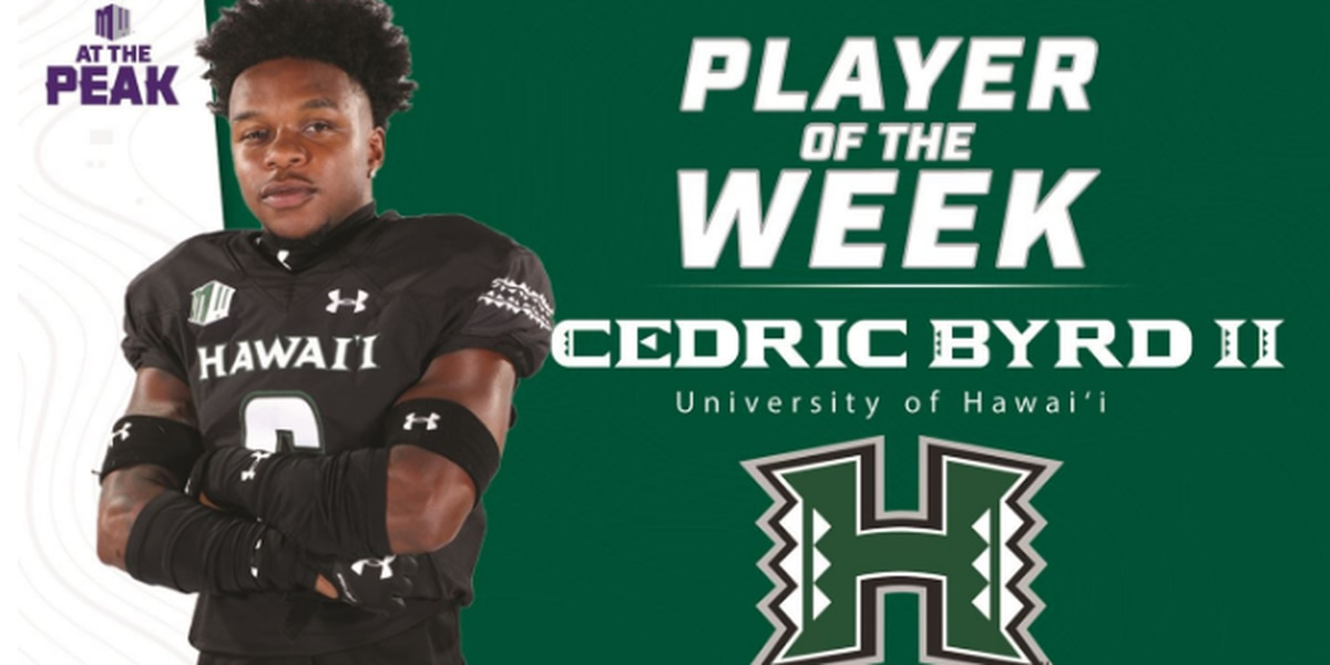 Byrd Selected As MW Offensive Player of the Week