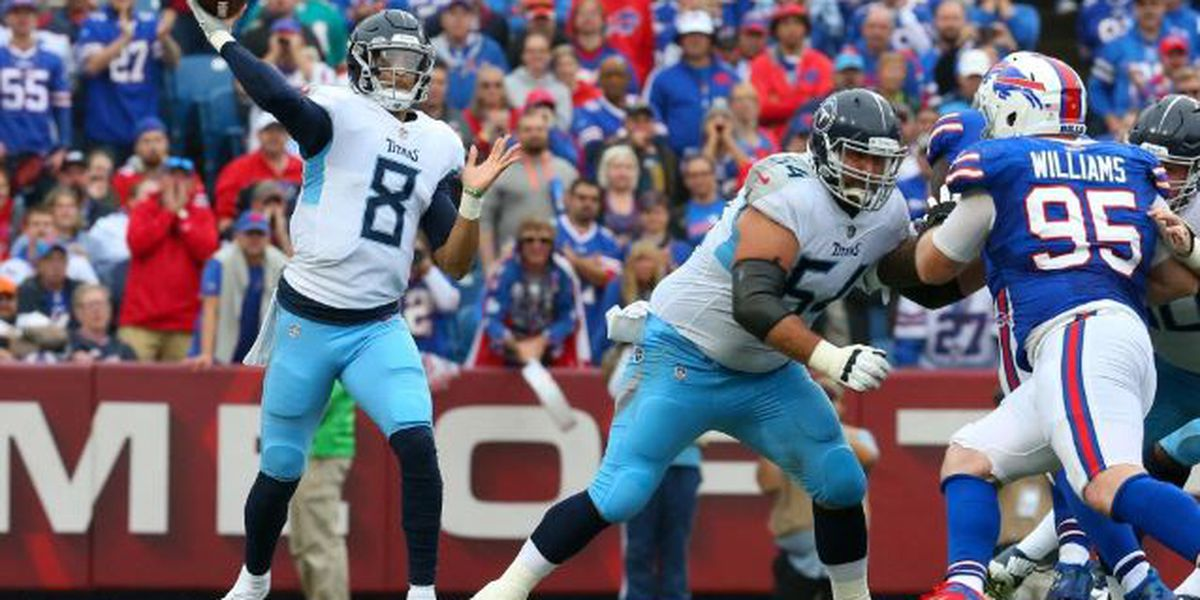Mariota and Titans fall 14-7 in AFC divisional contest