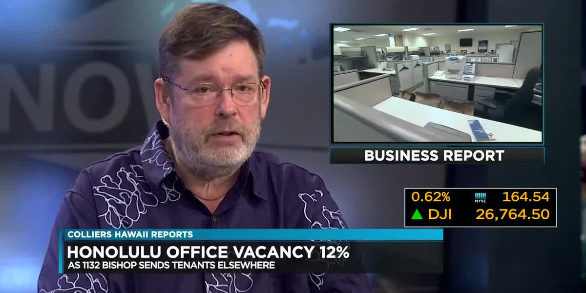 Business Report: Office vacancy rates plunge in Honolulu