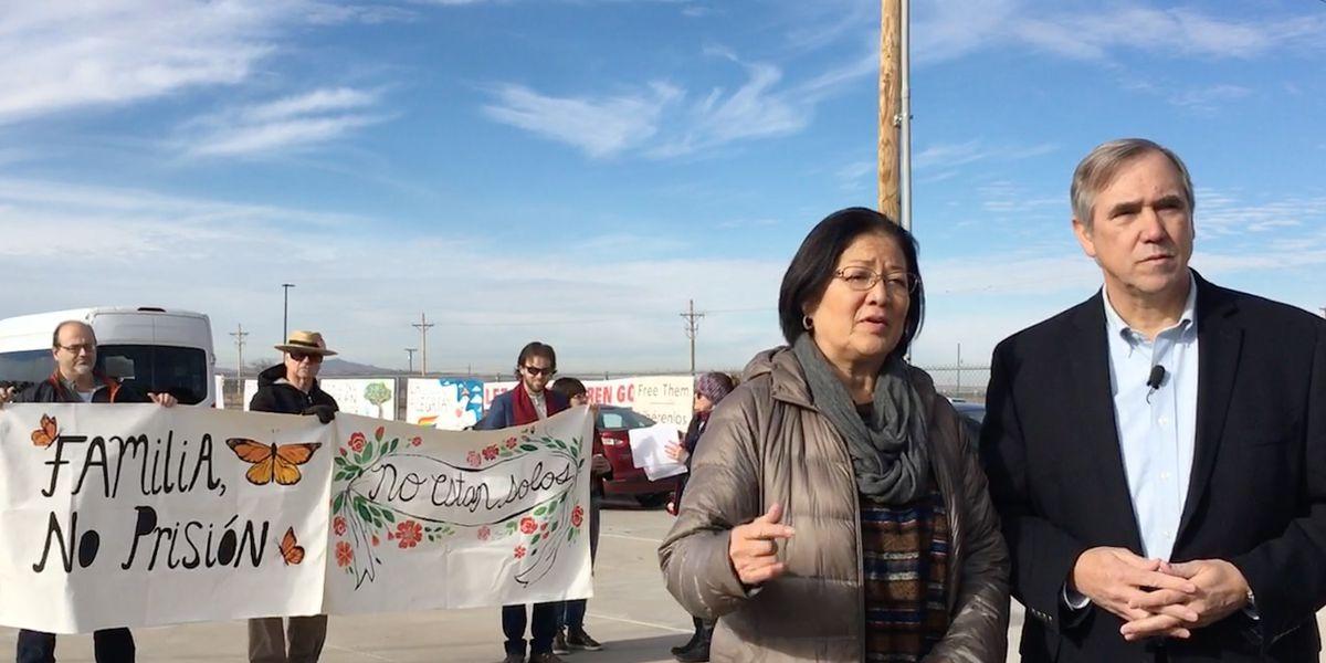 'Unacceptable': US Sen. Mazie Hirono tours immigrant detention centers at Texas-Mexico border