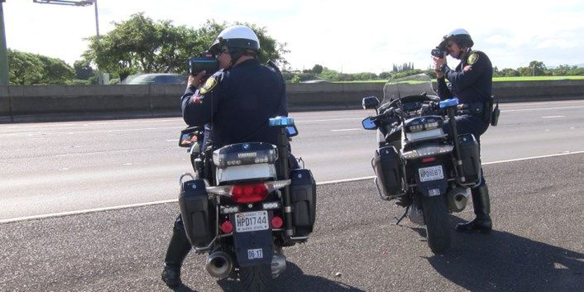 HPD reports big drop in speeding tickets this year