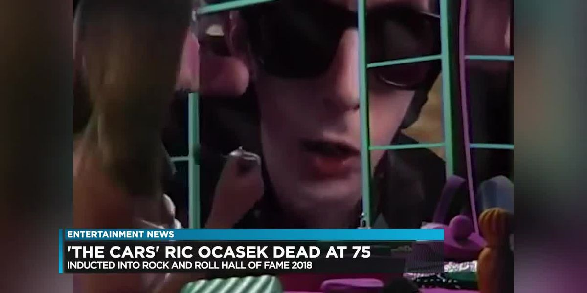 """The Cars"" lead singer and songwriter Ric Ocasek dies at 75"